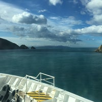 Photo taken at Cook Strait by Dave C. on 5/11/2016