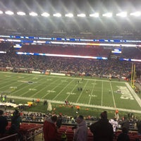 Photo taken at Putnam Club - Gillette Stadium by Mike B. on 12/13/2016