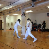 Photo taken at Maryland Fencing Club by Esli A. on 9/28/2013