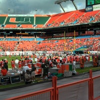 Photo prise au Hard Rock Stadium par Keith F. le11/17/2012