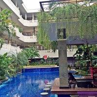 Photo taken at Aston Tuban Inn Bali by lia i. on 1/26/2016