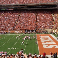 Photo taken at Darrell K Royal-Texas Memorial Stadium by Andy Y. on 11/10/2012