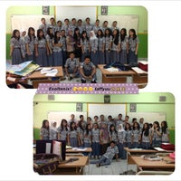 Photo taken at SMA Negeri 21 Jakarta by Nabilla O. on 11/29/2012