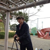 Photo taken at タコ公園 / 小川公園 by Yasunobu S. on 12/23/2013