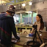 Photo taken at オレンジハウス 本店 住まいカフェ by Yasunobu S. on 11/22/2012