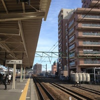 Photo taken at Yaizu Station by Yasunobu S. on 1/3/2013