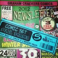 Photo taken at Graham Crackers Comics by Travis C. on 11/12/2012
