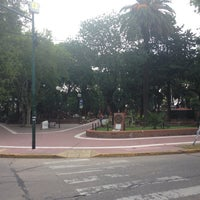 Photo taken at Plaza 9 de Julio by Agustín G. on 3/6/2014