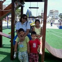 Photo taken at Parque San Andres by Teresita Milagros S. on 12/24/2012