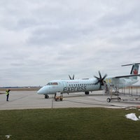 Photo taken at Windsor International Airport (YQG) by Sev M. on 2/11/2013