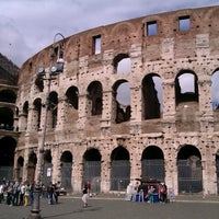 Photo taken at Piazza del Colosseo by Kateryna I. on 5/7/2013