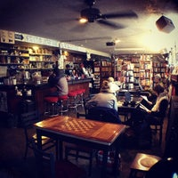 Photo taken at Red Emma's Bookstore Coffeehouse by Jennifer L. on 12/1/2012