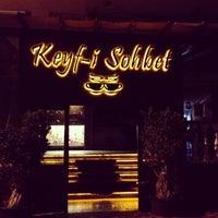 Photo taken at Keyf-i Sohbet by Murat E. on 6/14/2013