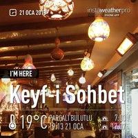 Photo taken at Keyf-i Sohbet by Murat E. on 1/21/2013