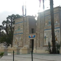 Photo taken at The Pharaonic Village by asmaa g. on 1/30/2013