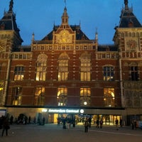 Photo taken at Amsterdam Central Railway Station by Jan V. on 3/3/2013
