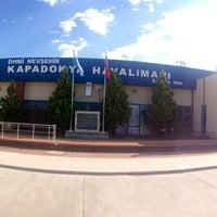 Photo taken at Nevşehir Kapadokya Airport (NAV) by Güney Can M. on 6/15/2013