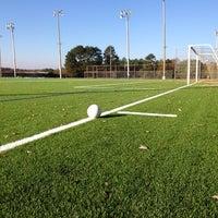 Photo taken at Waller Park Soccer Fields by Fernando S. on 11/3/2013