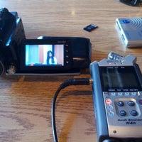 Photo taken at She-Sha Café & Hookah Lounge by Jordan L. on 4/25/2013