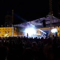 Photo taken at Piazza Grande by Natalia S. on 7/1/2017