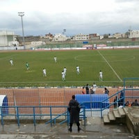 Photo taken at Stade Grombalia by mohamed C. on 12/1/2013