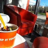 Photo taken at Yogurt Stop by Allan D. on 1/28/2013