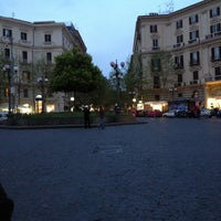 Photo taken at Piazza Luigi Vanvitelli by Riccardo R. on 4/23/2013