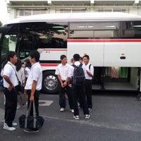Photo taken at 松江市立湖南中学校 by けんけん on 9/18/2012