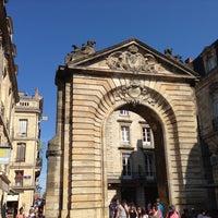 Photo taken at Porte Dijeaux by Pascal C. on 8/22/2013