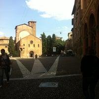 Photo taken at Piazza Santo Stefano by Carolina D. on 6/26/2013