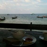 Photo taken at Seashell Resort Koh Tao by Carolina D. on 4/26/2014