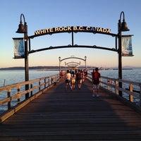 Photo taken at White Rock by Vivian L. on 7/26/2013