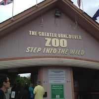 Photo taken at Greater Vancouver Zoo by Vivian L. on 6/9/2013