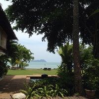 Photo taken at Koh Yao Island Resort by Numchawan on 4/28/2014