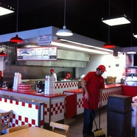 Photo taken at Five Guys by Jesse D. on 10/2/2012
