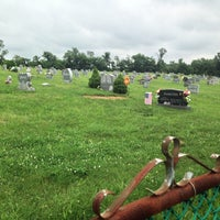 Photo taken at Hillsboro Cemetery by Dion H. on 6/21/2014