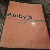 Photo taken at Amby's Restaurant & Pub by Njoki M. on 9/6/2013