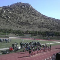 Photo taken at Tahquitz High School by Stephanie C. on 9/19/2013