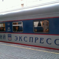 Photo taken at Поезд № 748 «Невский экспресс» Москва — Санкт-Петербург by Vasilisa M. on 12/13/2012