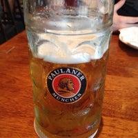 Photo taken at Brotzeit German Bier Bar & Restaurant by Marlin B. on 1/10/2014