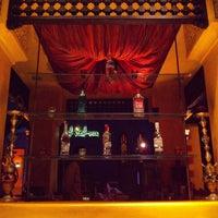 Photo taken at Shisha Bar @ Villa Moroc by Sean T. on 4/6/2013