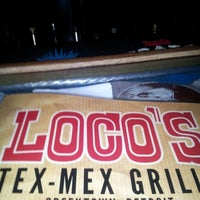 Photo taken at Loco's Bar & Grill by Ashanti M. on 11/21/2012