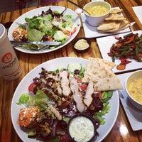Photo taken at Daphne's Greek Cafe by Joanna P. on 12/4/2014