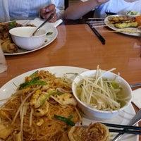 Photo taken at Bangkok Noodles & Thai BBQ by Gaudy W. on 4/22/2014