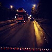 Photo taken at Dejvická (bus) by R N. on 9/21/2013