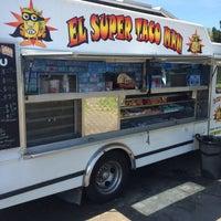 Photo taken at El Super Taco Man by Mason W. on 7/29/2014