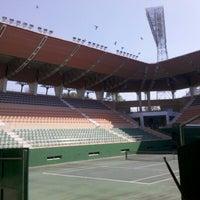 Photo taken at Lal Bahadur Shastri Stadium by Swayampu A. on 1/17/2013