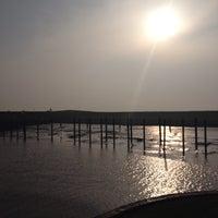 Photo taken at Dangaster Hafen by mimi_ol on 3/30/2014