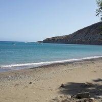 Photo taken at Pissouri Beach by Michalis M. on 6/1/2013