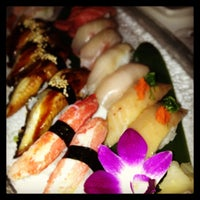 Photo taken at Katsuya at the SLS Hotel by Alex 2. on 7/4/2013
